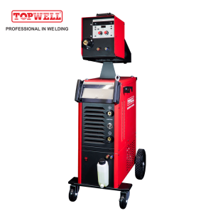 Topwell High Speed MIG 500 Pulse MIG MAG MMA welder Heavy Duty Welding Machine ProMIG-500SYN DPulse