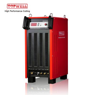 HD200MAX:100%占空比200a等离子切割,带水喷雾切割工艺