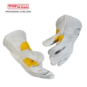 GREAT HEAT RESISTANCE MIG Welding Gloves for mig welding BK2203