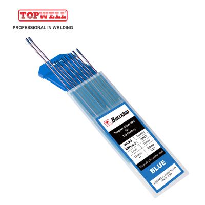 TIG Welding Tungsten Electrode 2% Lanthanated (Blue, WL20/EWLa-2)10-pk