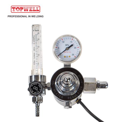 中国制造的二氧化碳CO2气压调节器,用于焊接