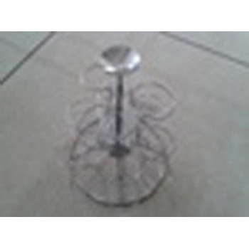 18 Cups Stainless Steel Decorative Cupcake Stand/Dessert Stand