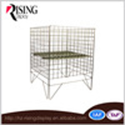 OEM supermarket usage metal dump bins storage rack