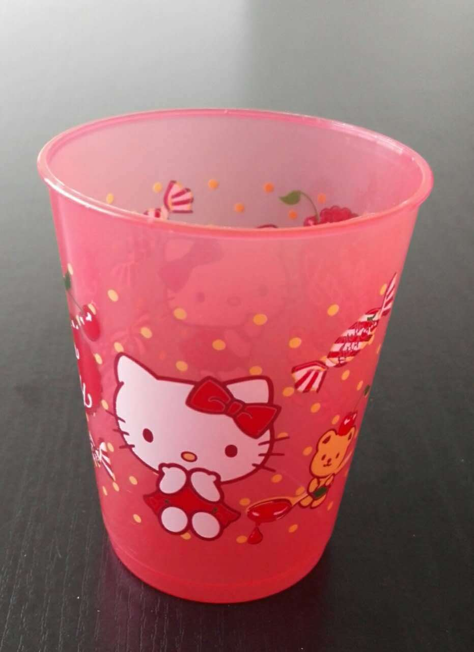 7oz PP color printing Cup