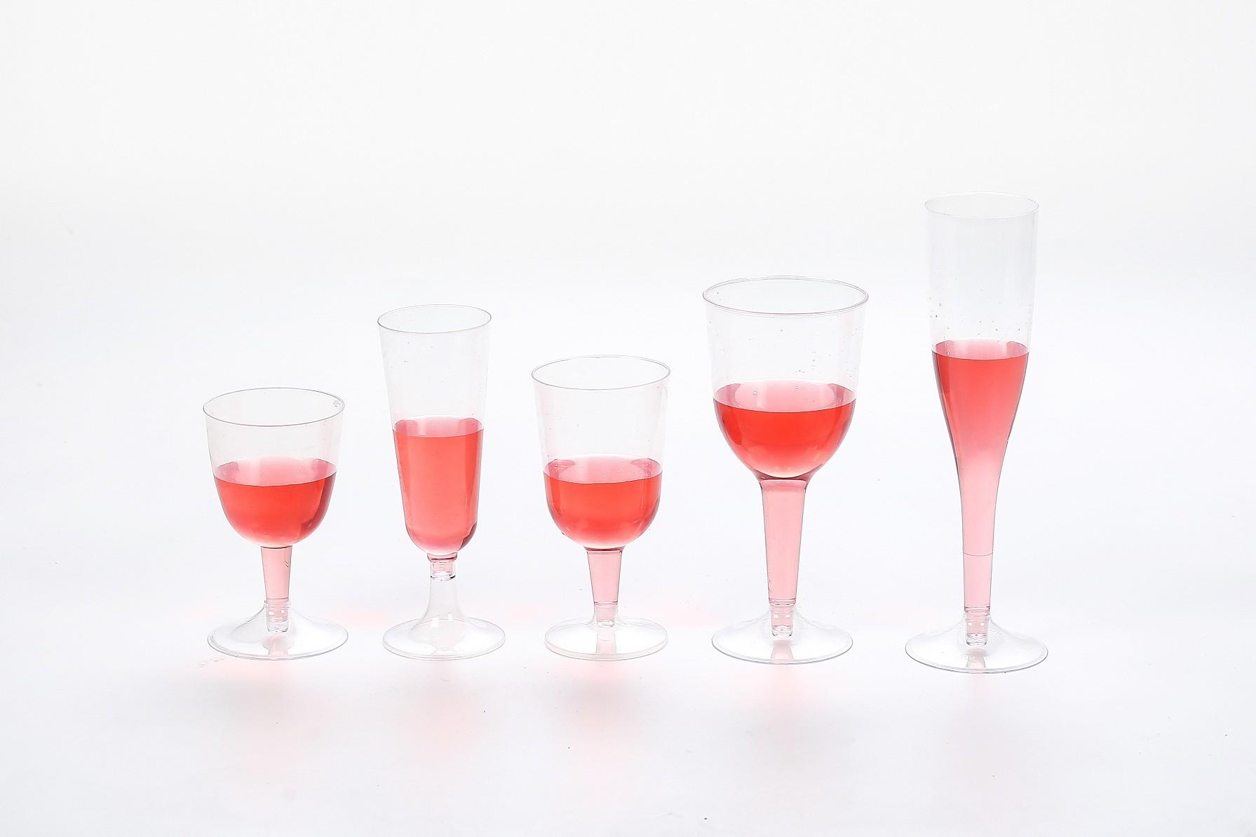 All kinds of elegant goblets