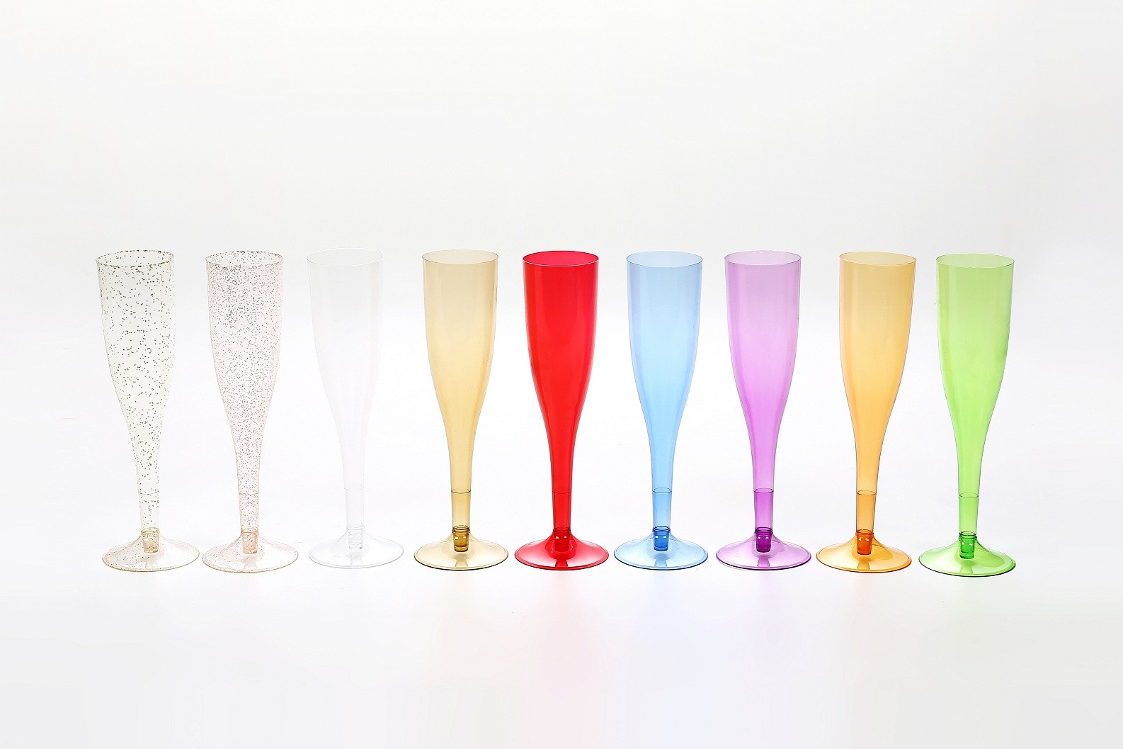 5.5 oz gold powder champagne glass