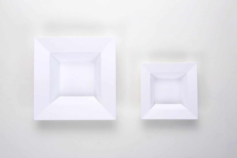 deep square plates