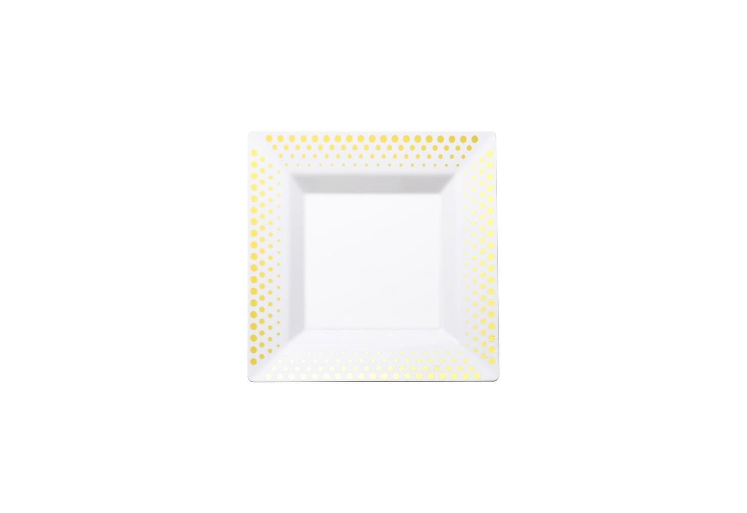 Bronzing square plates