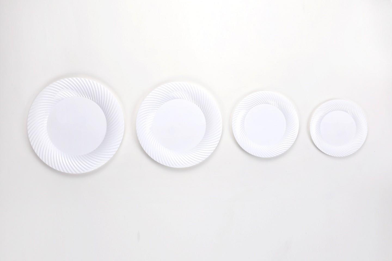 Carve Round Plate