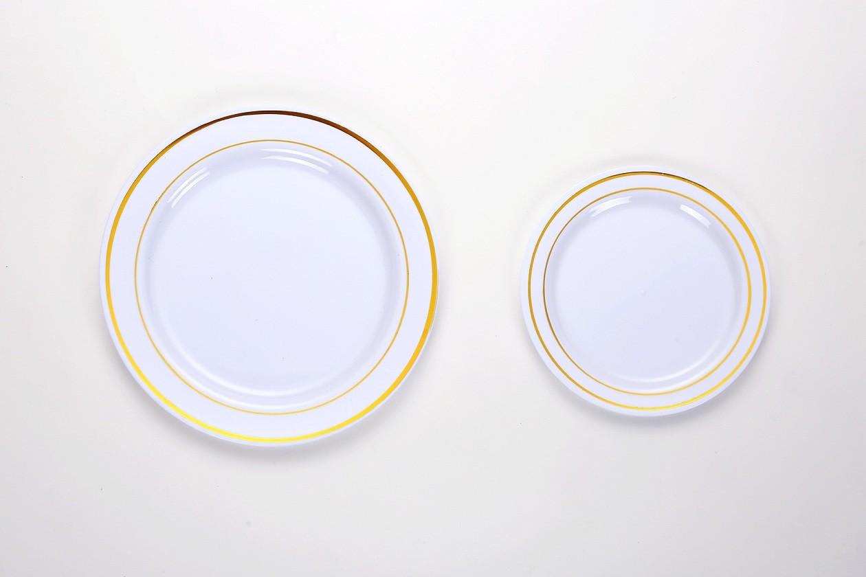 Bronzing Round Plate