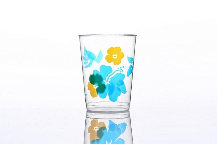 10oz big Flowers printing cups