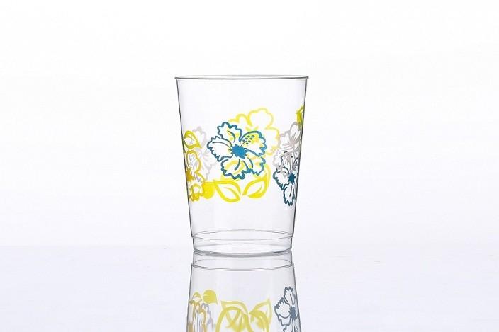 10oz Flowers printing cups