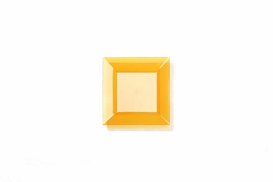 6.5 '  square plate