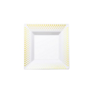 PS Bronzing square plates