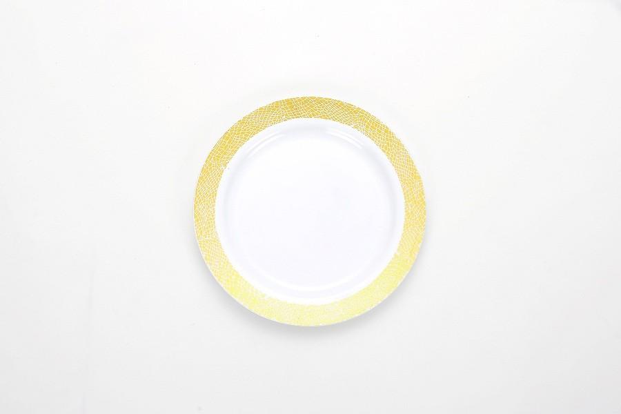 10' printing Round Plate