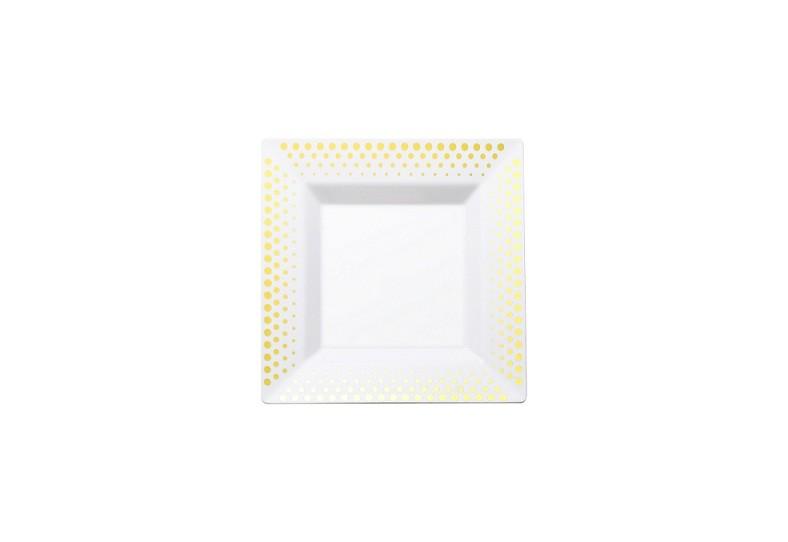 PS Bronzing square plates
