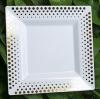 NINGBO GUANGHE PLASTIC INDUSTRIAL CO。、LTD。新発売金メッキ加工使い捨てプラスチック角板