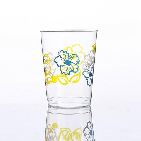 10オンスの花の印刷カップ