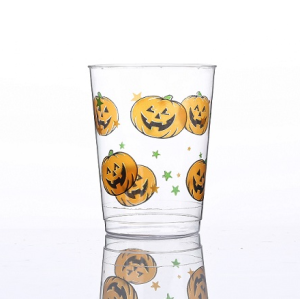 10oz Halloween Pumpkin printing Cup