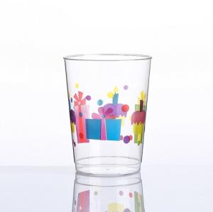 Vasos de impresión de feliz cumpleaños de 10 oz