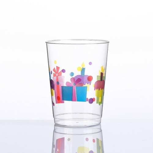10oz Happy Birthday printing cups