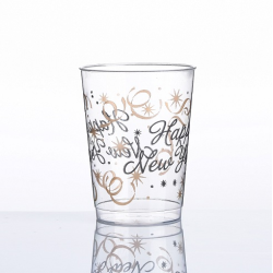 """10oz""""happy New Year""""printing cups"""