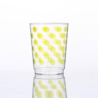 10oz 도트 인쇄 컵