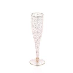 5.5 oz gold powder champagne glass