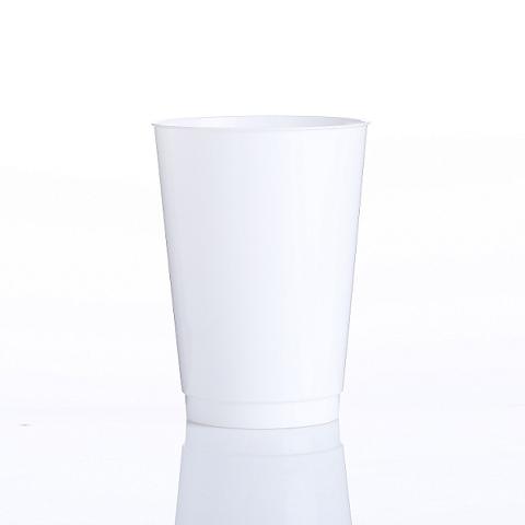 Vasos blancos de 10 oz y 12 oz