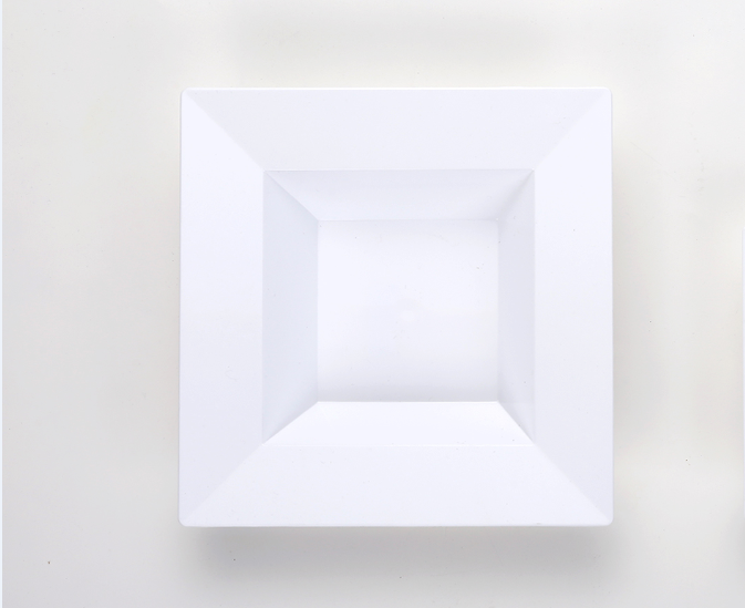8.5  'deep square plate