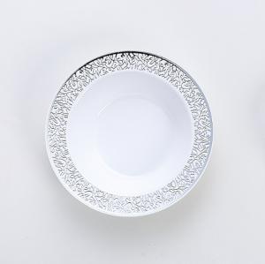 Carve Bronzing Deep Round Plate