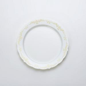Carve Bronzing  Round Plate