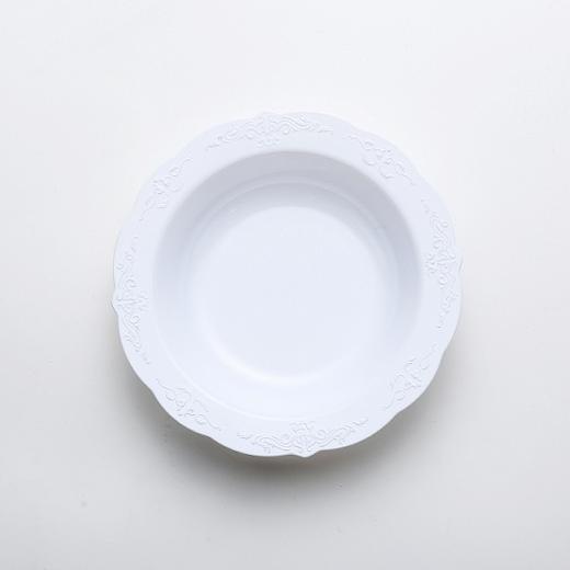 Carve  Deep Round Plate