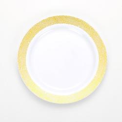 7' printing Round Plate