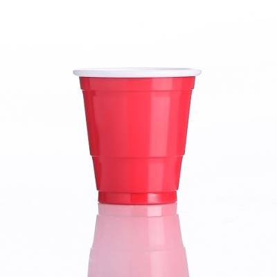 2オンスのダブルカラープラスチックカップ