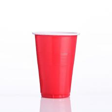 16オンスのダブルカラープラスチックカップ