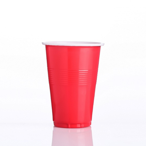 16oz 더블 컬러 플라스틱 컵