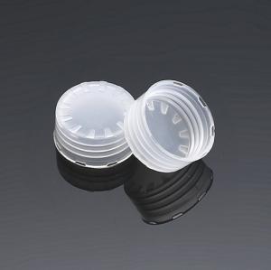 Tapa de botella de plástico