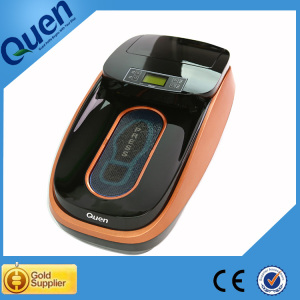 Automatic plastic shoe cover dispenser for medical