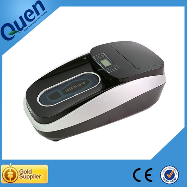 Disposable shoe cover dispenser machine for clean room
