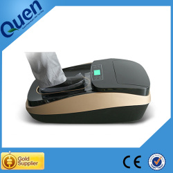 Disposable shoe cover dispenser for dental clinic