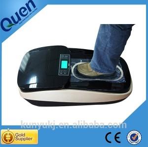 الصين مورد الذهب حذاء يغطي الحذاء غطاء العبوة التلقائي للمنزل