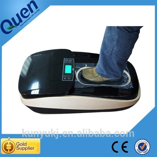 Top grado automático máquina cubierta de la zapata para clínica
