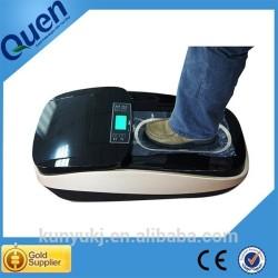 Gran capacidad de gama alta higiénico zapato automático cubierta del dispensador para quirófano para bienes raíces