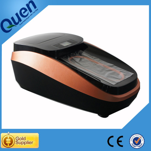 Automático máquina cubierta de la zapata para uso médico