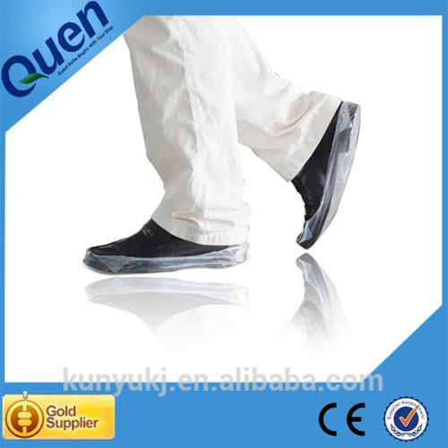 Sala limpia de la cubierta del zapato de la máquina