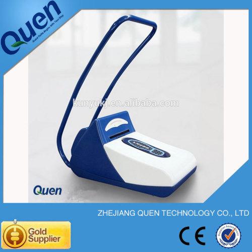 Desechables para zapatos cubierta de la máquina para sala limpia