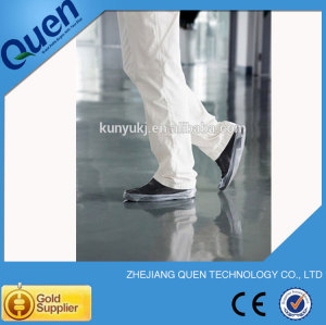 Cpe desechables cubren la cubierta del zapato para zapato dispensador de la cubierta