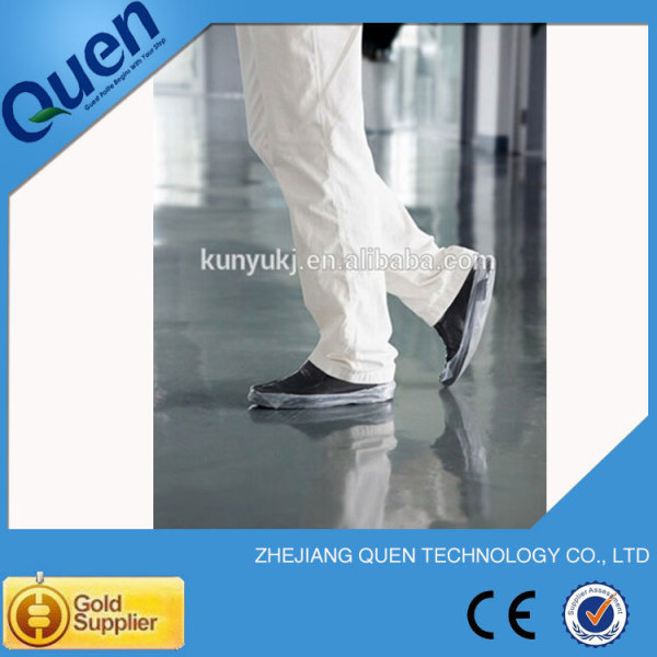 De plástico de la cubierta del zapato para zapato dispensador de la cubierta