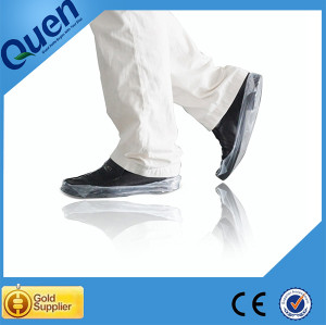 Non slip shoe covers for shoe cover dispenser